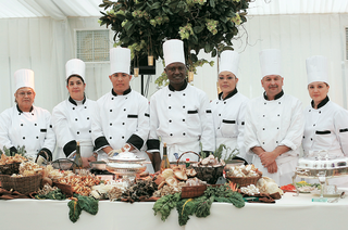 caterers-in-white-and-black-chef-uniforms