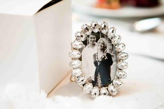 black-and-white-photo-of-couple-in-jeweled-frames