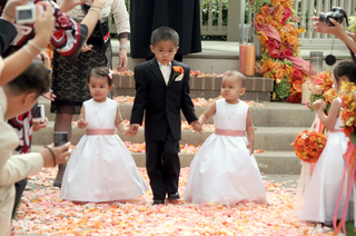 child-attendants-at-a-wedding
