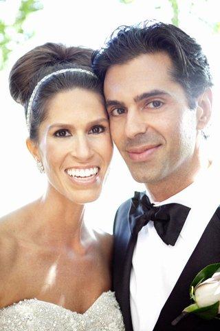 upclose-portrait-of-couple-on-wedding-day