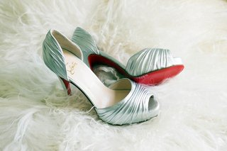 christian-louboutin-crinkled-metallic-shoes
