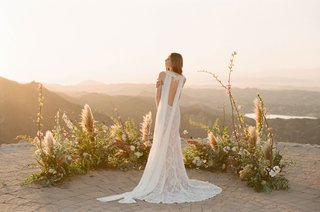 Saratoga by Claire Pettibone Romantique boho wedding dress