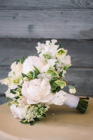 bridal-bouquet-with-greenery-white-flowers-white-peonies-with-a-hint-of-blush