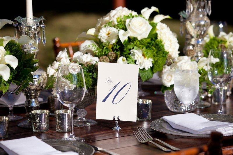 Evoke Design & Creative Table Number