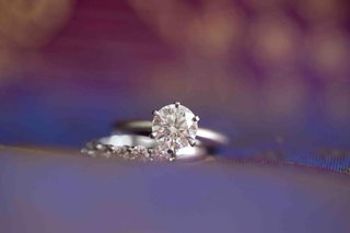 diamond-engagement-ring-and-diamond-wedding-band