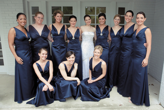 dark-colored-gowns-with-silver-brooches