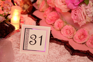 pink-and-white-table-number-with-silver-border-and-crystals