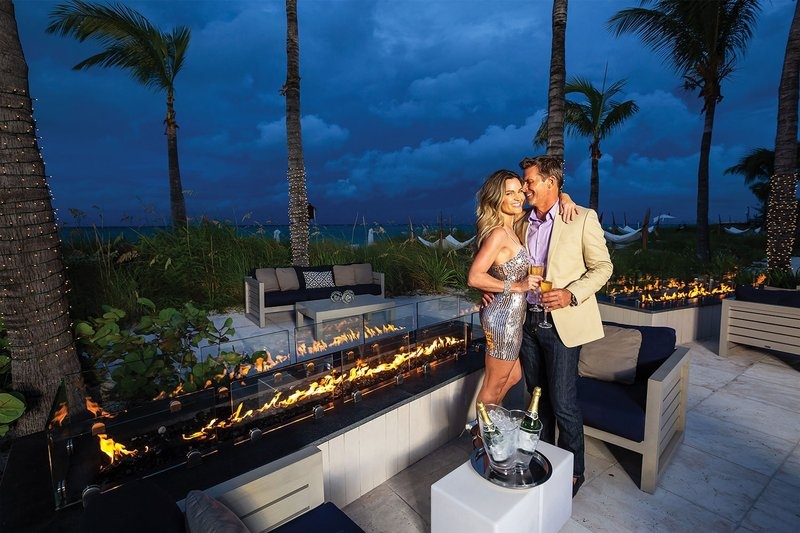Bayside Firepit at Beaches Resorts