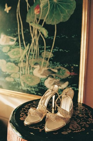 bridal-shoes-with-bling-on-display