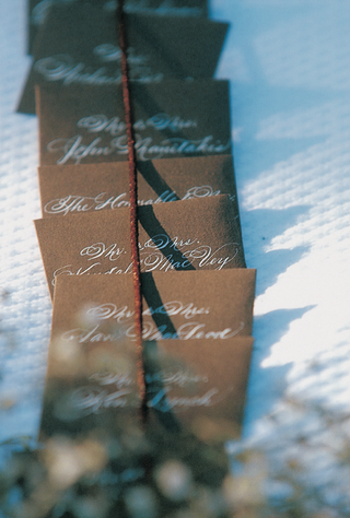 chocolate-escort-card-with-white-letters
