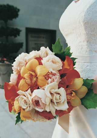 red-and-orange-floral-bouquet