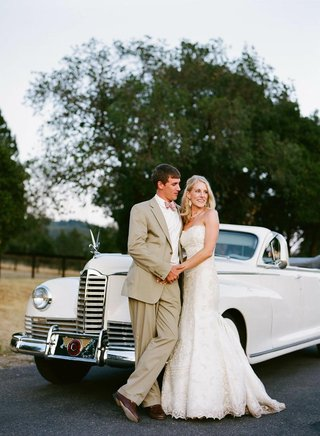 bride-and-groom-next-to-1938-packard-limo