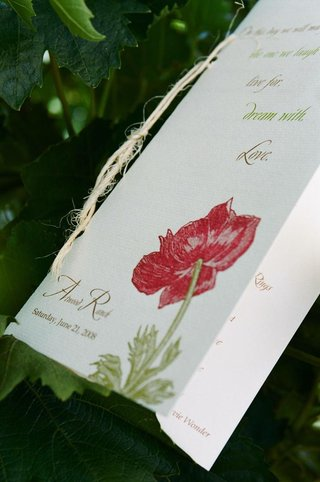poppy-flower-illustration-on-ceremony-booklet