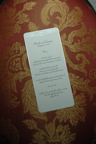 silver-scroll-design-on-white-wedding-menu-card
