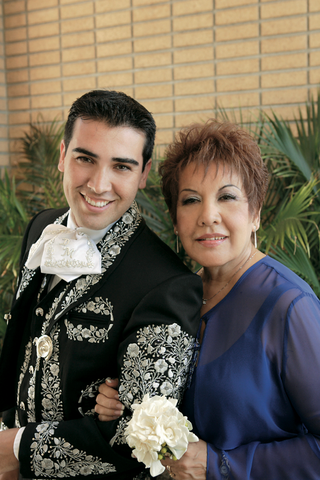 groom-in-mariachi-outfit-with-his-mom