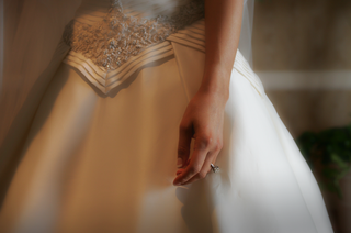 a-line-wedding-dress-with-diamond-ring