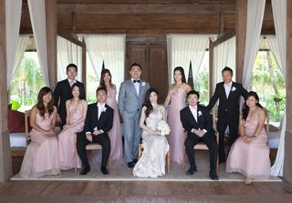 asian-bride-and-groom-with-bridesmaids-and-groomsmen