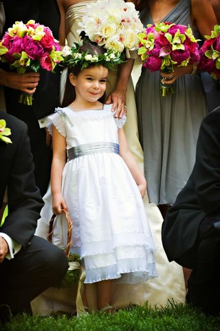 flower-girl-in-a-white-dress-with-grey-sash