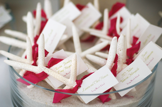 place-cards-tied-to-starfish-with-pink-ribbon