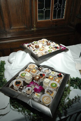 wedding-reception-dessert-table-with-small-treats