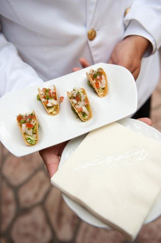 wedding-appetizer-mexican-food-on-white-tray