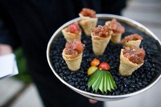 ahi-tuna-served-inside-crispy-cones