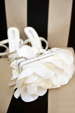 structured-bridal-clutch-with-ivory-fabric-petals
