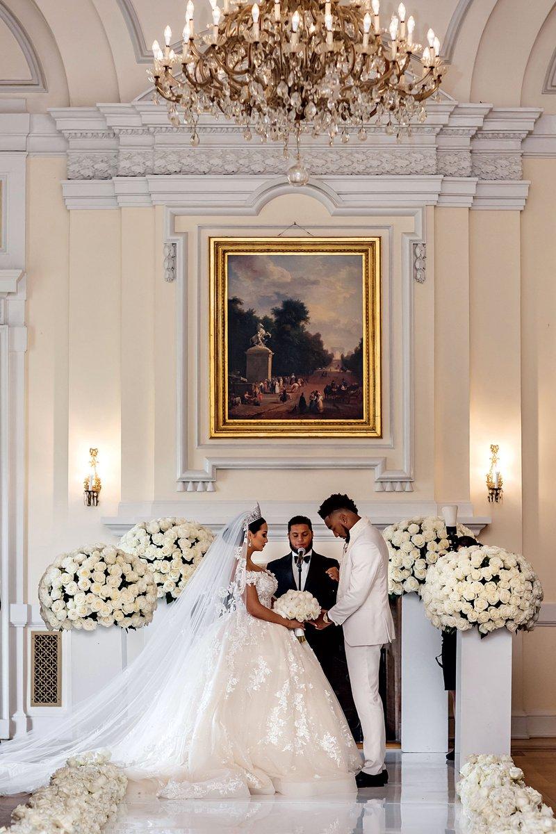 Dontae Johnson Wedding at Oheka Castle