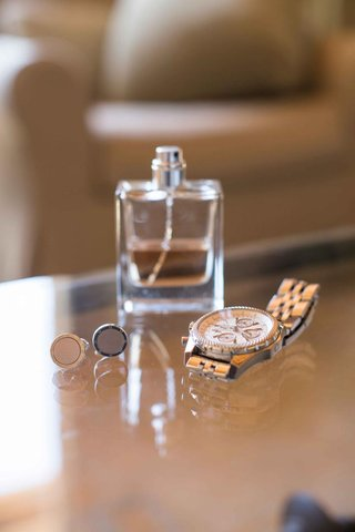 silver-cuff-links-and-fancy-watch-and-cologne