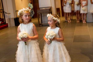 flower-girl-dresses-with-tiered-tulle-skirt-and-flower-wreath