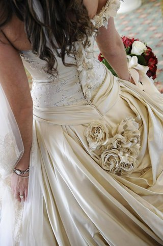 back-of-corset-wedding-dress-with-rhinestones