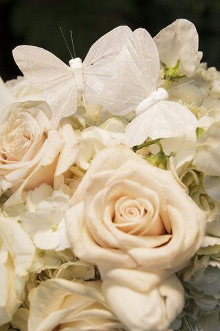 white-roses-and-blossoms-with-sparkling-butterflies