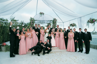 portrait-of-guests-under-ceremony-tent-and-chuppah