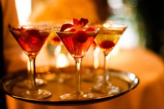 red-and-yellow-drinks-served-in-martini-glasses