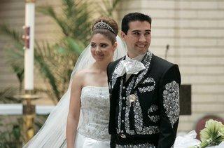 groom-in-charro-suit-and-bride-in-tiara