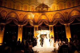 the-breakers-circle-ballroom-jewish-wedding-ceremony
