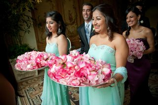 turquoise-celadon-strapless-indian-dresses