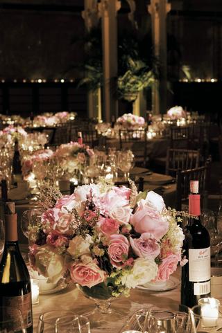 short-bowl-vases-and-wine-bottles
