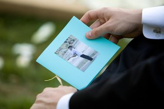 ceremony-booklet-with-photo-of-couple-on-front