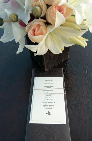 destination-wedding-schedule-with-starfish-design