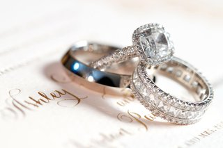 square-halo-set-diamond-ring-and-bands