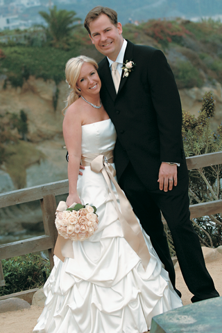 pick-up-wedding-dress-with-tan-sash