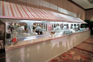 dessert-bar-with-pink-and-white-stripes