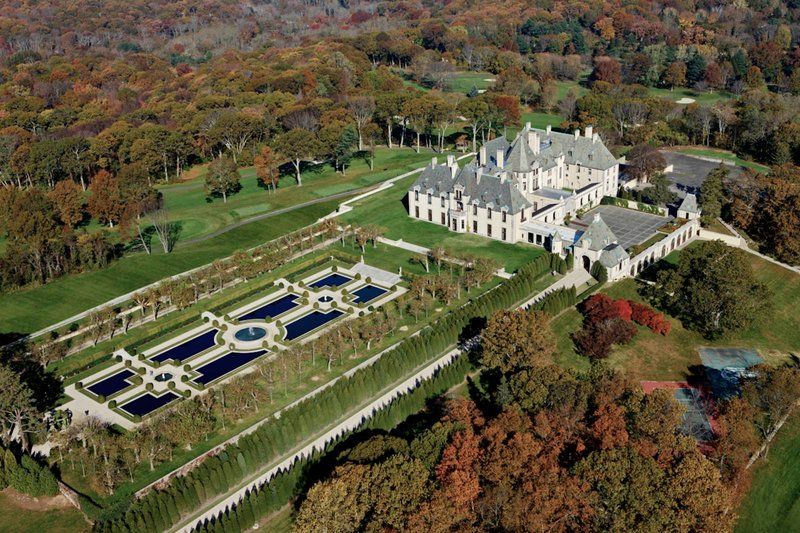 Oheka Castle in the Fall Season