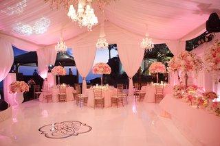 custom-wedding-dance-floor-with-monogram-in-center