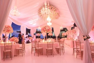 marquee-wedding-with-drapery-and-romantic-flowers