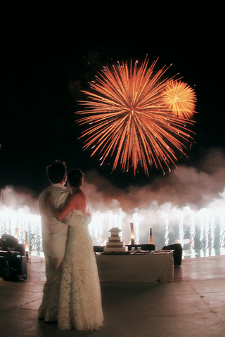 firework-display-above-first-dance-couple