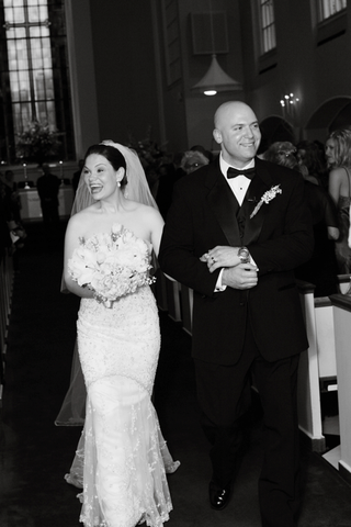 black-and-white-photo-of-recessional