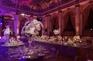 opulent-ballroom-reception-with-white-orchids-and-clear-tables