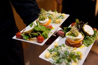 white-platter-with-caprese-salad-and-meat